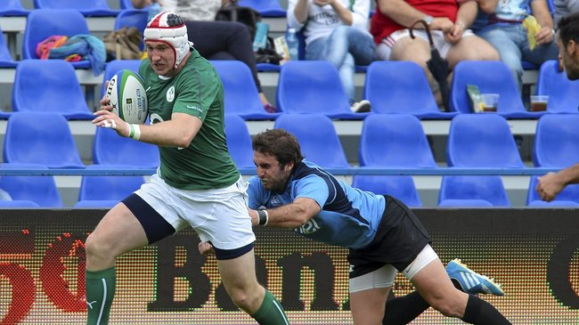 Emerging Ireland 51 Uruguay 3, Stadionul National Arcul de Triumf, Bucharest, Wednesday, June 18, 2014