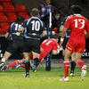 Johne Murphy, who started on the left wing this time, had registered Munster's bonus point try by the 47th minute