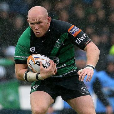 Connacht flanker Johnny O'Connor
