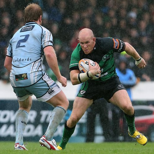 Photos of Connacht's opening RaboDirect PRO12 clash with the Cardiff Blues