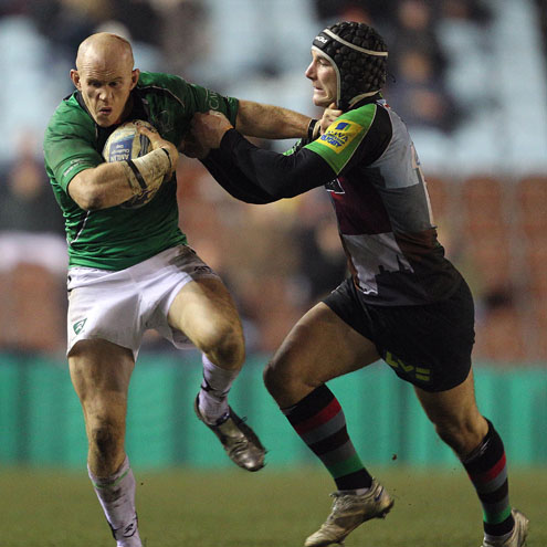 Harlequins 20 Connacht 9, Twickenham Stoop, Sunday, December 12, 2010