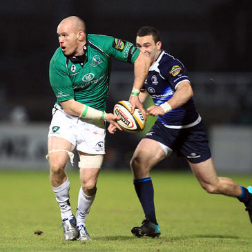 Johnny O'Connor in action for Connacht