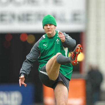 Ireland's Jonathan Sexton at the Stade de France