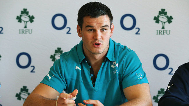Ireland out-half Jonathan Sexton