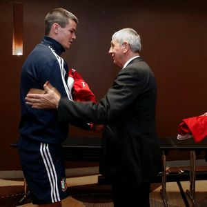 British & Irish Lions' Jersey Presentation For First Test, Hilton Hotel, Brisbane, Australia, Friday, June 21, 2013