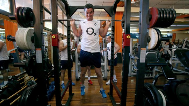 Ireland Squad's Weights Session, CeNARD, Buenos Aires, Argentina, Tuesday, June 3, 2014