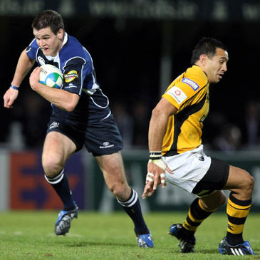 Jonathan Sexton in action against Wasps