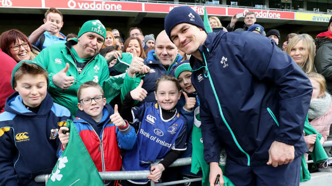 Ireland Squad To Hold Two Open Training Sessions