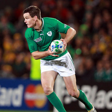 Jonathan Sexton in action for Ireland