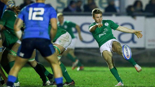 Ireland Under-20 Team Named For France Clash