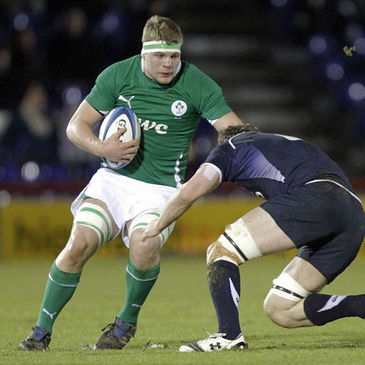 Jordi Murphy will captain the Ireland Under-20s on Sunday