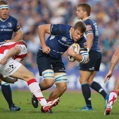 Jordi Murphy in action against the Dragons