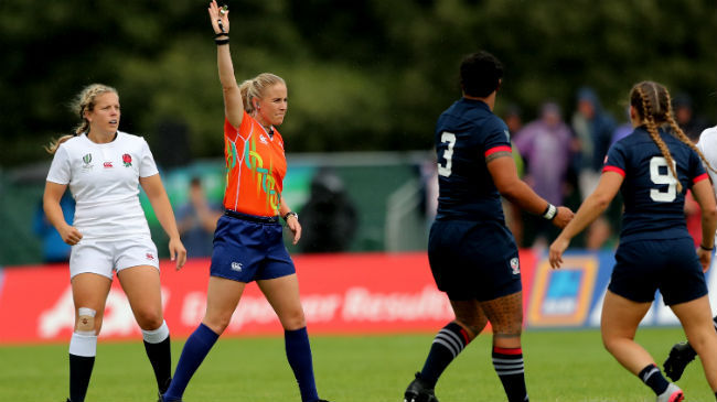 Joy Neville To Referee Women's Rugby World Cup Final