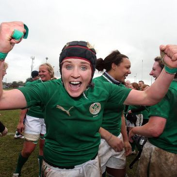 Ireland number 8 Joy Neville