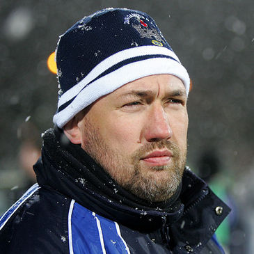 Dungannon's director of rugby Justin Fitzpatrick