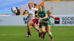 Rugby Europe Women's Sevens Grand Prix Series - Round 2, Central Stadium, Kazan, Russia, September 1-2, 2018