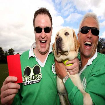 Referees Support Irish Guide Dogs