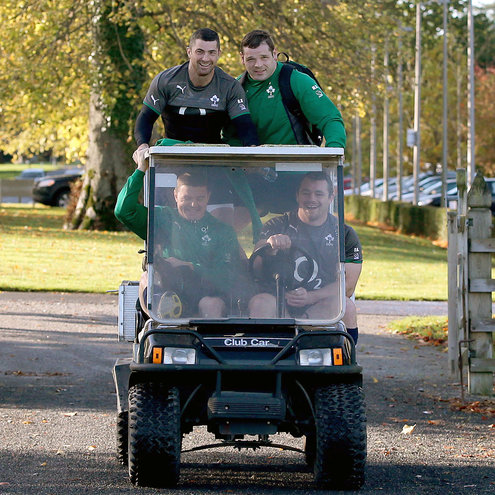 Ireland Squad Training Session At Carton House, Maynooth, Thursday, November 7, 2013