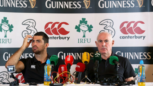 Irish Rugby TV: Rob Kearney & Michael Kearney