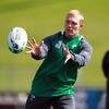 Retained on the left wing, Keith Earls will be hoping to add to his try-scoring tally against Australia. His previous tries for Ireland include efforts against Canada, Fiji, England and Wales