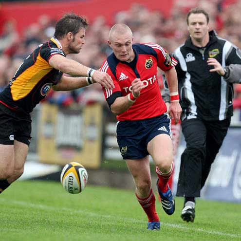 Munster 50 Dragons 6, Musgrave Park, Sunday, September 14, 2008