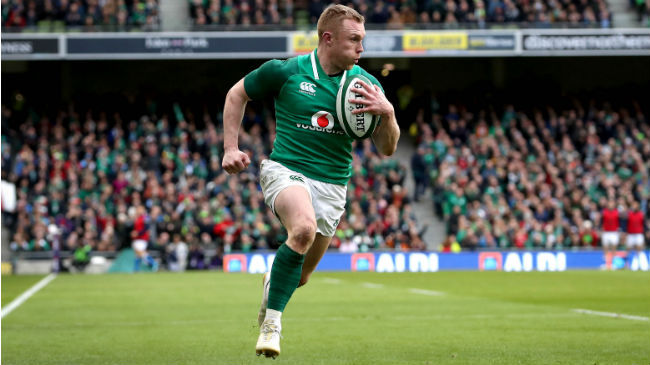 Keith Earls Signs IRFU Contract Extension To 2021