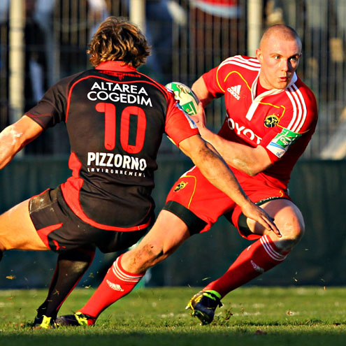 Toulon 32 Munster 16, Stade Félix Mayol, Sunday, January 16, 2011
