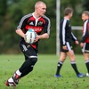 Munster full-back Keith Earls, who made his Heineken Cup bow last weekend, takes the ball on