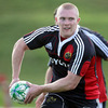 Keith Earls has made a welcome return to full training with Munster ahead of their tricky trip to London Irish