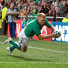 A final pass from Stephen Ferris put Keith Earls diving in at the left corner for his third try in two World Cup games