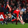 Keith Earls slipped through to score Munster's third try on the night and his eight try of the league campaign