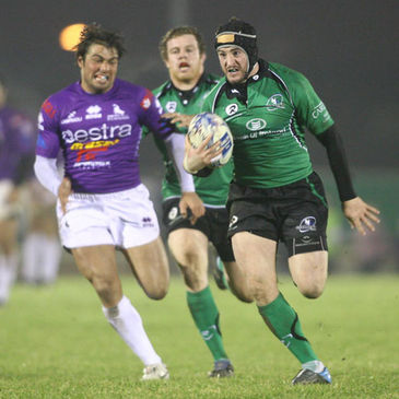 Keith Matthews will make his 100th appearance for Connacht on Friday