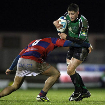 Keith Matthews in action for Connacht against Rovigo