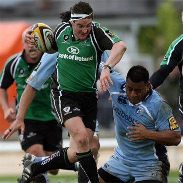 Connacht centre Keith Matthews on the charge