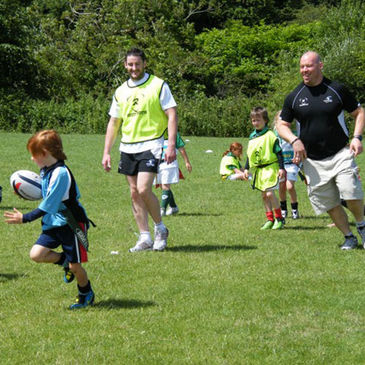 Keith Matthews and Robbie Morris at the Dangan Summer Camp