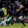 Flanker Kevin McLaughlin made his first appearance for Leinster in seven months, after undergoing surgery on his knee and shoulder