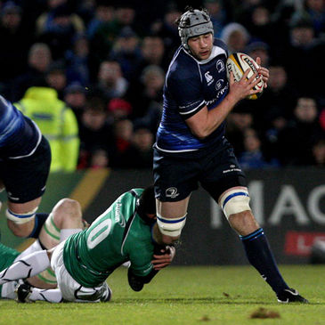 Leinster's Kevin McLaughlin in action against Connacht
