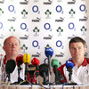 Long-serving captain Brian O'Driscoll was seated alongside Declan Kidney, and spoke of the excitement in camp surrounding the squad announcement