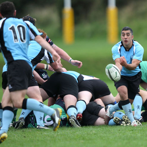 Kieran Campbell gets his pass away for Galwegians