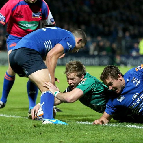 Kieran Marmion touches down for Connacht