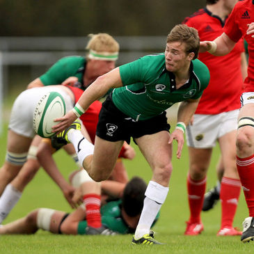 Kieran Marmion played for the Connacht U-20s last season