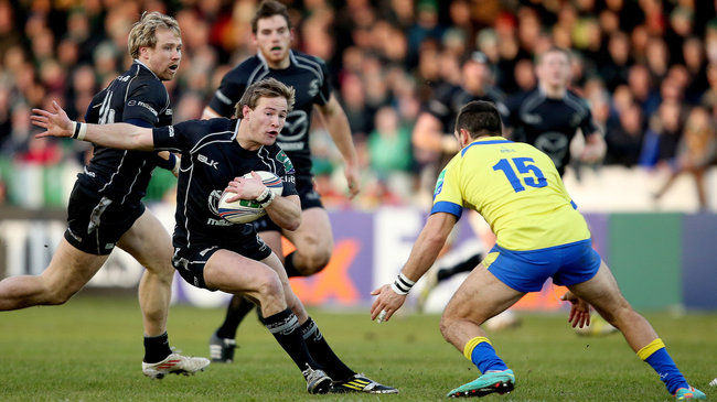 Kieran Marmion carries forward for Connacht
