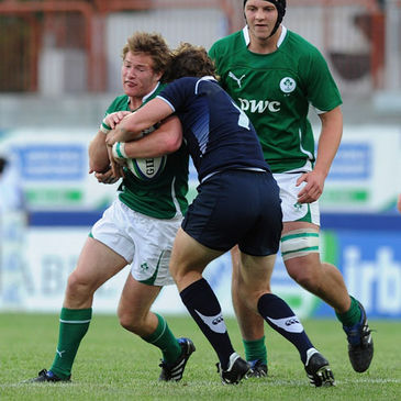 Kieran Marmion in action for the Ireland Under-20s