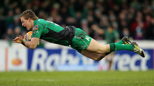 Kieran Marmion was honoured as Connacht's Player of the Year
