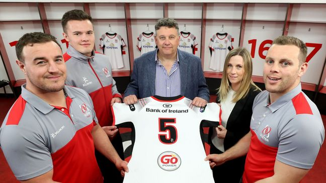 The announcement of the extended contract between Ulster Rugby and Kukri Sports