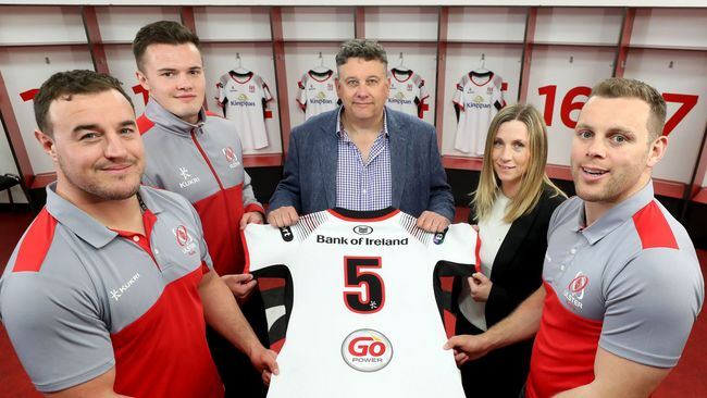 Ulster And Kukri Sports Announce New Five-Year Kit Deal