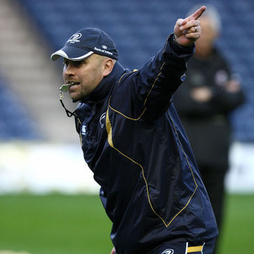 Leinster defence coach Kurt McQuilkin