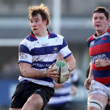 Blackrock's two-try centre Kyle Tonetti