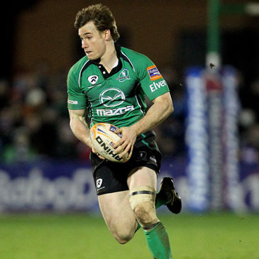 Kyle Tonetti in action for Connacht