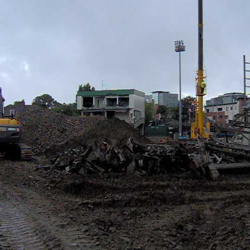 In Pictures: Lansdowne Road Demolition